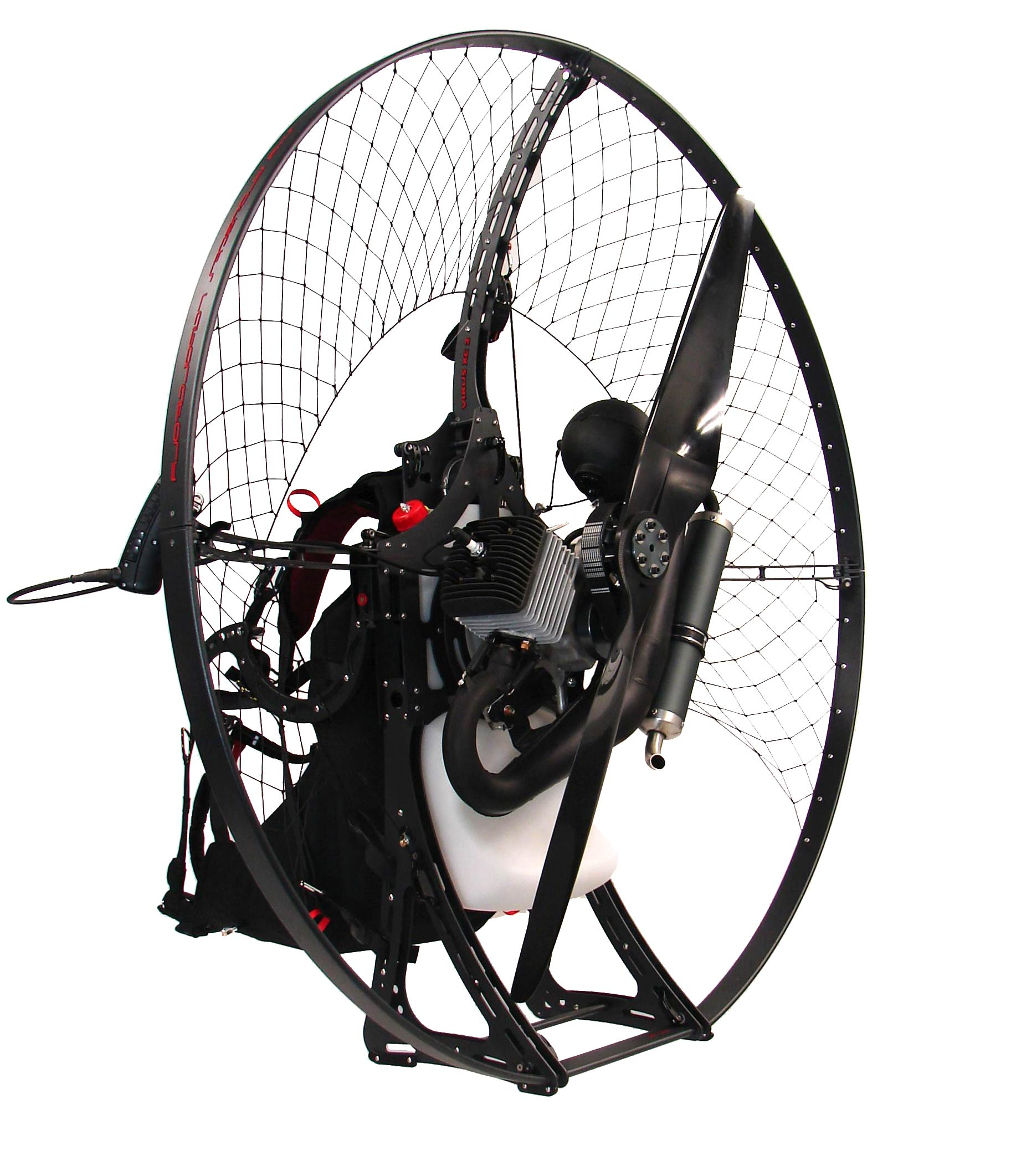 Paramotor - Weldless technology